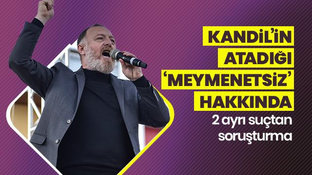 HDP Eş Genel Başkanı Sezai Temelli hakkında soruşturma başlatıldı!