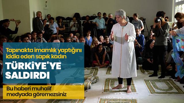Sapkın kadın Seyran Ateş Türkiye'yi hedef aldı