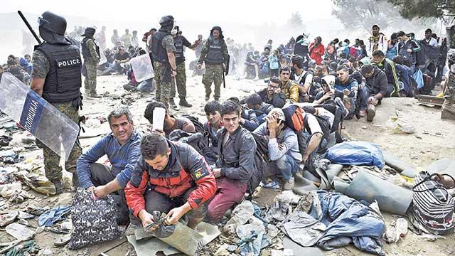 Yunan kamplarıdehşet verici