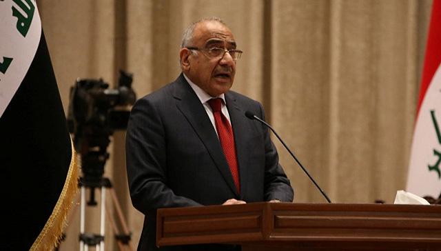 Irak Başbakanı Abdulmehdi: Irak'ta yabancı askeri üs bulunmuyor