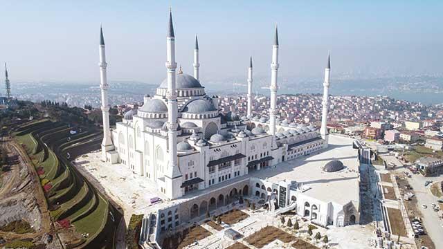 Çamlıca Camii için geri sayım