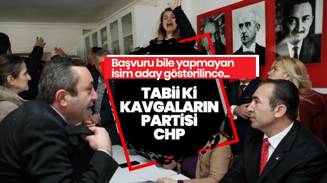 CHP Buca İlçe Başkanlığı'nda gerginlik