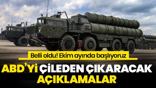 Savunma Sanayii Başkanı Demir açıkladı: S-400'ler Ekimde hazır olacak