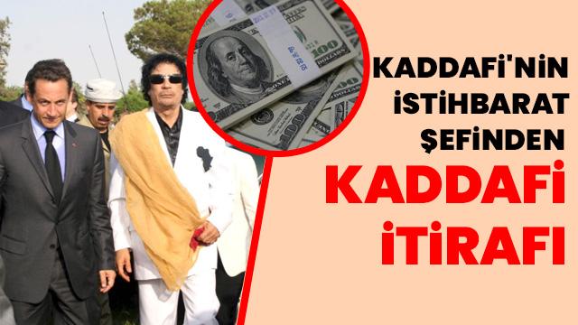'Sarkozy, Kaddafi'den 8 milyon dolar aldı'