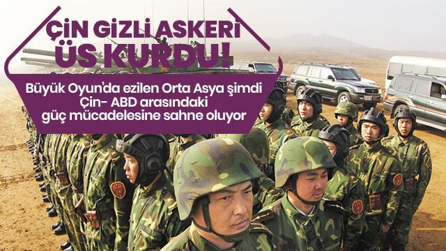 Çin gizli askeri üs kurdu! Koridoru kontrol etmek istiyor