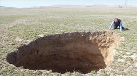 Konya'nın Karapınar ilçesinde 6 gün içinde 3 yeni obruk meydana geldi