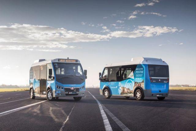 Avrupa'ya elektrikli minibüs ihraç ediyoruz!