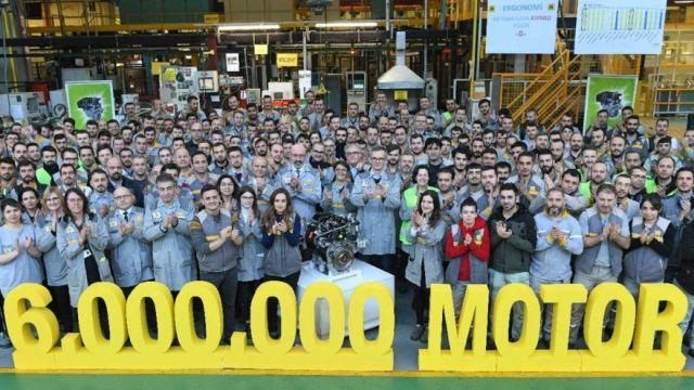 Türkiye'de 6 milyonuncu motorlarını ürettiler!