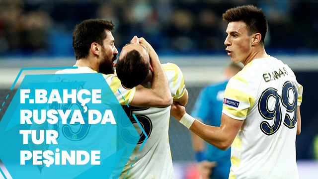 Zenit - Fenerbahçe | CANLI ANLATIM