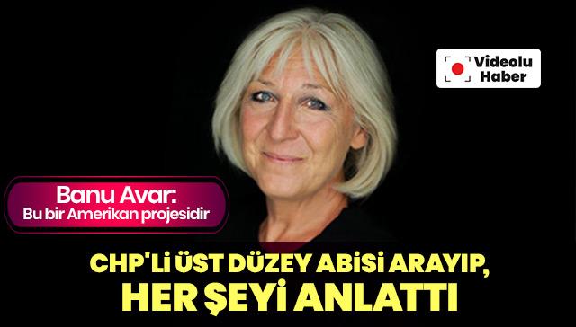 Banu Avar: Bu bir Amerikan projesidir