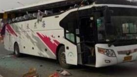 Çin'de işçi servisi kaza yaptı: 20 ölü, 30 yaralı