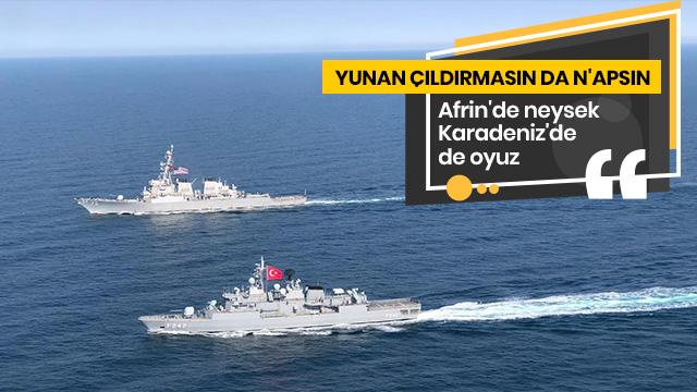 Deniz Kuvvetlerimiz, ABD ile Karadeniz'de eğitim faaliyeti icra etti
