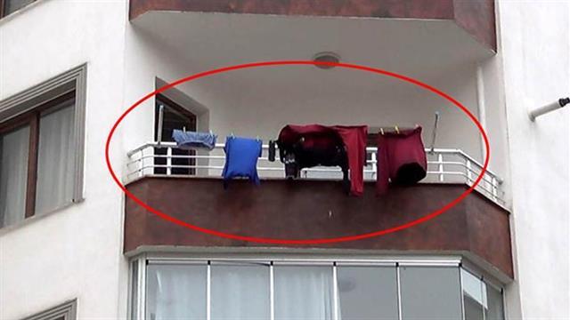 Çamaşırları 3 gün asılı kalınca öldüğü ortaya çıktı ile ilgili görsel sonucu