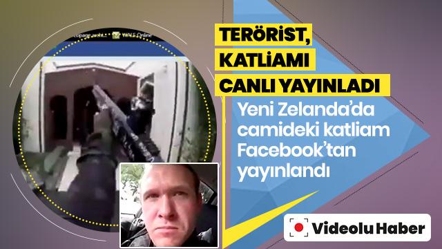 Terörist, cami katliamını canlı yayınladı