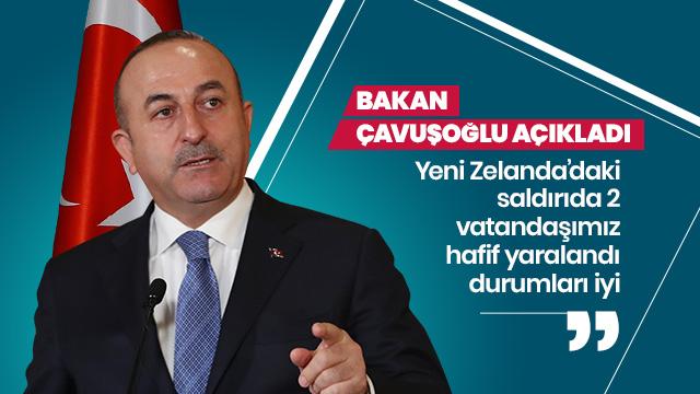 """""""Yeni Zelanda'daki saldırıda iki Türk yaralı"""""""