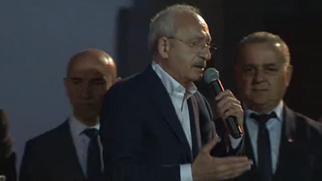 """Kılıçdaroğlu """"Nerede neler yapıldı kimse bilmiyor"""" diyemedi"""