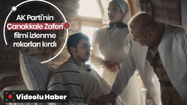 AK Parti'den Çanakkale Zaferi'ne özel kısa film