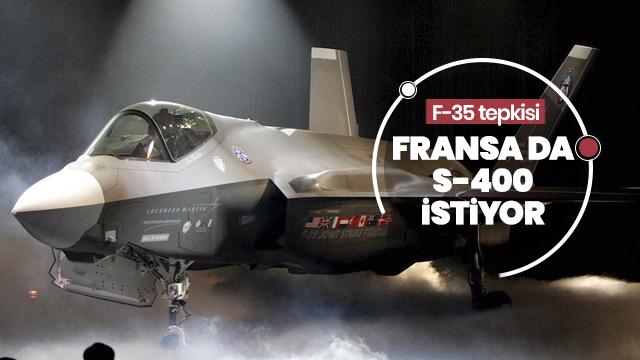 Fransa ABD'nin F-35 şantajını eleştirdi