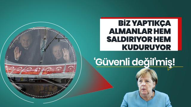 Alman DW'nin Marmaray kıskançlığı