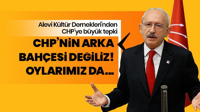 Alevi Dernekleri'nden Kılıçdaroğlu'na: Arka bahçeniz değiliz