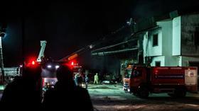 Arnavutköy'deki fabrika yangını tamamen söndürüldü