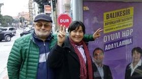 Son Dakika: HDP'li aday Yurdanur Güven gözaltına alındı