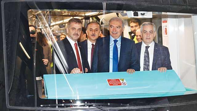 'İstanbul'a ikinci sürücüsüz metro'