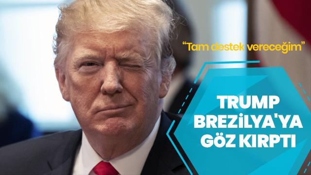 Trump'tan Brezilya'nın NATO üyeliğine tam destek
