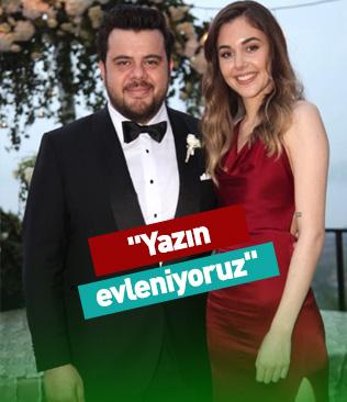Eser Yenenler: Yazın evleniyoruz