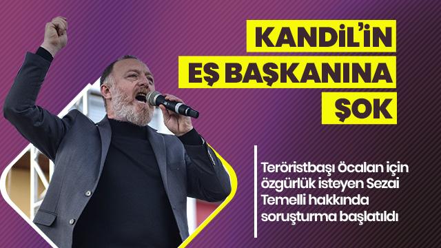 HDP Eş Genel Başkanı Sezai Temelli hakkında soruşturma