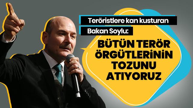 İçişleri Bakanı Soylu: Türkiye'yi yıllarca vesayet sistemiyle yönettiler