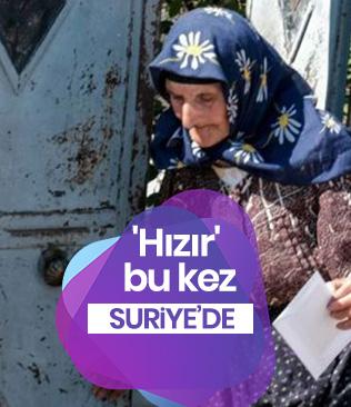 İstanbulluları sevindiren 'Hızır' bu kez Suriye'de