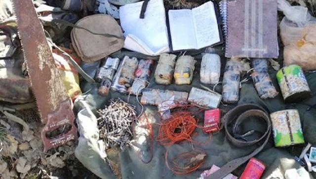 Şırnak'ta teröristlere ait 11 el yapımı patlayıcı düzeneği ele geçirildi