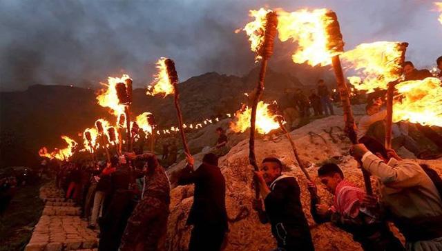 Kuzey Irak'ta Nevruz coşkuyla karşılandı