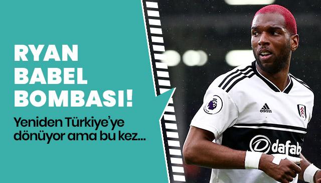 Ryan Babel Fenerbahçe yolunda