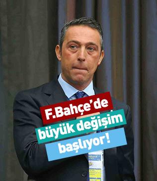 Fenerbahçe'de sezon sonu kadro sil baştan yenilenecek