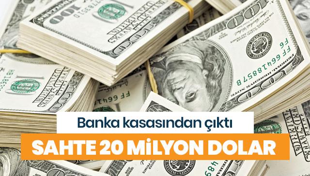 200 milyon dolar sahte banknot ele geçirildi