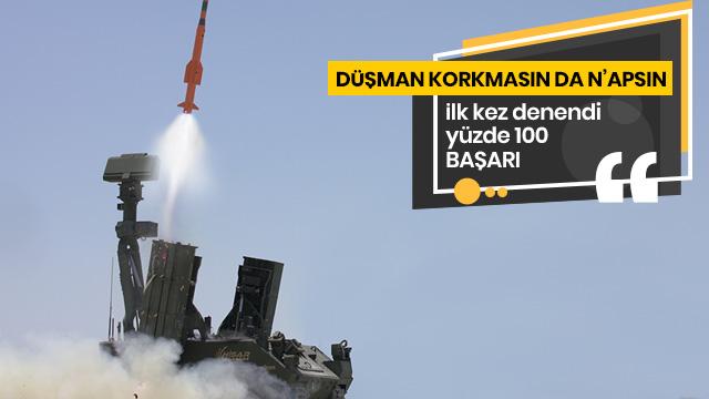 Savunma Sanayi Başkanı açıkladı: İlk kez kullanıldı, yüzde 100 başarı
