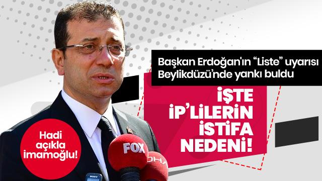 Beylikdüzü, Başkan Erdoğan'ın sözüyle uyandı: 'Listede HDPKK'lı var'