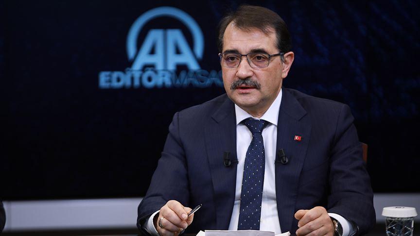 """Enerji ve Tabii Kaynaklar Bakanı Fatih Dönmez: """"Adana'da ikinci bir kuyuda sondaja başladık, hedefimiz 4 bin 500 metre"""""""