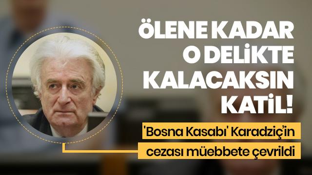 'Bosna Kasabı' Karadzic'in temyiz kararı açıklandı