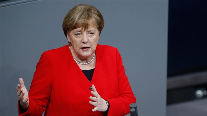 Merkel'den AB'ye
