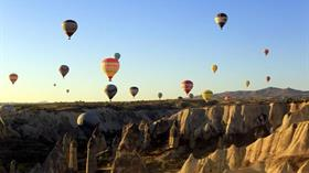 Kapadokya dünyada birinci sırada