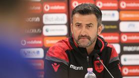 Arnavutluk Milli Takımı teknik direktörü Christian Panucci: Türkiye'yi yenmek istiyoruz