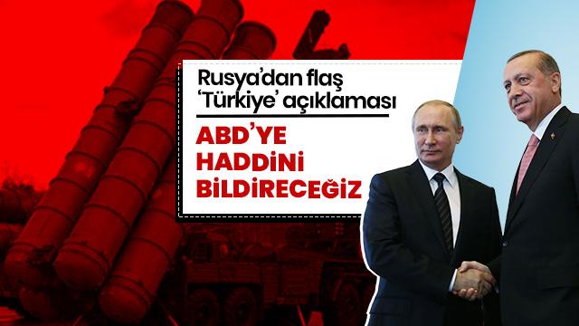 'Rusya, Türkiye'ye S-400 sistemleri vererek ABD'ye haddini bildirecek'