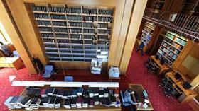 Meclis Kütüphanesi'nde 404 bin yayınlık çeşitli materyal bulunuyor