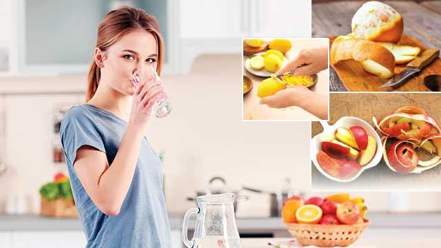 Meyvenin içini ye kabuğunu kaynat