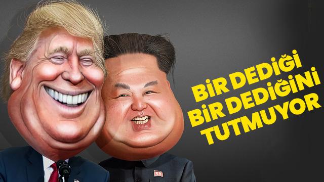 Trump'ın Kuzey Kore paylaşımı kafaları karıştırdı
