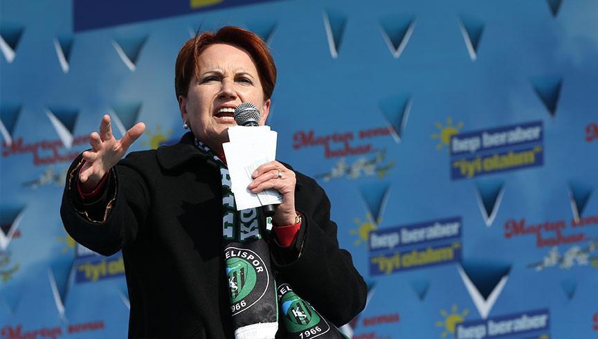İP lideri Akşener, FETÖ'cülere 'Mehmetçik' dedi