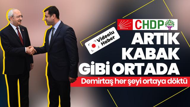 Mızrak çuvala sığmıyor: CHP ve İP saklasa da Demirtaş her şeyi itiraf etti!
